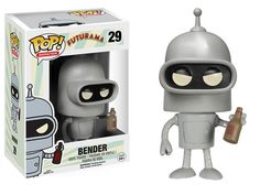 [✓✓✓] Pop! Television Futurama - Bender - Futurama Funko Figures