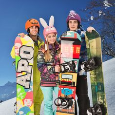 """Our snowboard team """"in action"""" :) Snowboarding, Skiing, Helmet Covers, Sports Helmet, Roller Derby, Rafting, Bike, Action, Mountains"""