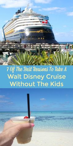 Ready for a kid free vacation? You may think a Walt Disney Cruise is just for families but you'd be surprised at how much fun it can be for adults too. Disney Vacation Club, Disney Vacation Planning, Cruise Vacation, Disney Vacations, Vacation Trips, Walt Disney, Disney Tips, Orlando Disney, Disney Magic