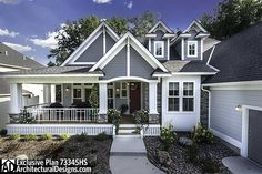 Exclusive House Plan 73345HS - 3 beds, one story with daylight basement