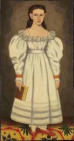 Girl of the Bangs-Phelps Family  Erastus Salisbury Field  (1805–1900)