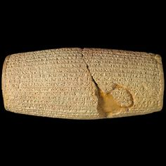 The British Museum  announces that one of its most iconic objects, the Cyrus Cylinder, will tour to five major museum venues in the United States in 2013. This will be the first time this object has been seen in the US and the tour is supported by the Iran Heritage Foundation.