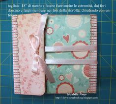 TUTORIAL ALBUM TRI-FOLD Love this idea, even though directions are in Spanish & I don't know Spanish.
