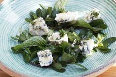 Mark Hix's Romanian recipes: ewe's milk blue cheese and purslane salad with honey