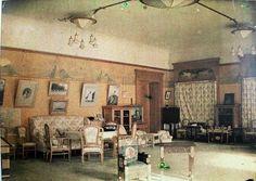 Tsarevich Alexei Nikolaevich Romanov of Russia's room at the Alexander Palace (colourised).A♥W