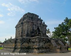 Candi Mendut (Mendut Temple) is 3- kilometers eastward from Borobudur Temple in Yogyakarta, Indonesia. It is a Buddhist temple, built in 824 A.D. by King Indera of Cailendra dynasty