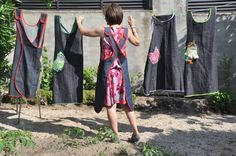 wonderful aprons. I like my dark and patterned aprons best, I like them as fashion and they are forgiving of mess too!