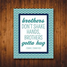 Brother Wall Art INSTANT DOWNLOAD Nursery Quotes 8x10 by RVparties, $5.00