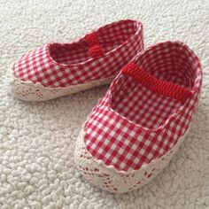 Babygirl will look so cute in these ...I can see her walking all around the place cute a button ♥