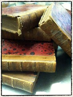 Tim Holtz - covered old books with TH papers