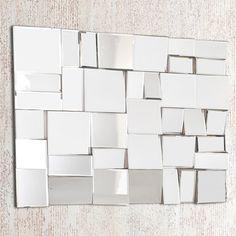 Contour : Miroir sans contour Miroir : Verre Dimensions : Longueur : 100 cm Hauteur : 80 cm Finitions : Système d'accroche murale Les plus produit : Un miroir ...