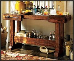 1000 images about kitchen bar ideas on pinterest mini bars computer cart and bar - Mini bar for apartment ...