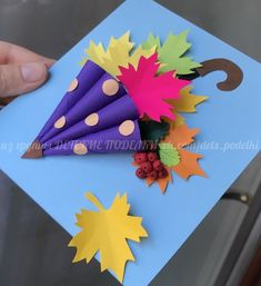 How to Paint A Loose Sunflower Bouquet Winter Crafts For Kids, Autumn Crafts, Paper Crafts For Kids, Preschool Crafts, Diy For Kids, Diy And Crafts, Arts And Crafts, Fall Art Projects, School Decorations
