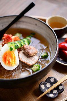 「シラタキ冷麺」|レシピブログ