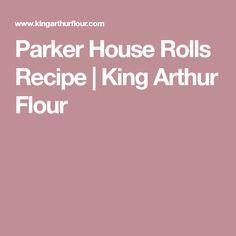Parker House Rolls Recipe | King Arthur Flour