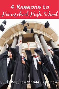 Why homeschool high school? There are many reasons to homeschool high school. These are just a few.