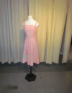 Adorable SWIRL Day Dress by BeauMondeVintage on Etsy, $128.00