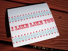 cute card for your sweetie