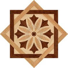 Ready made wood Medallion