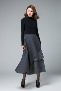 605941d2ed8234 17 meest inspirerende afbeeldingen over taille rok - Dress skirt ...