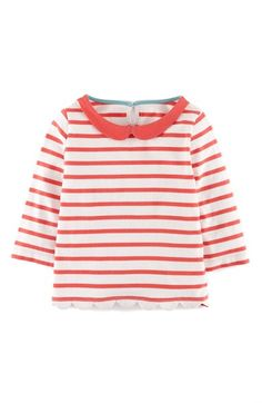Mini Boden 'Pretty' Peter Pan Collar Top (Toddler Girls, Little Girls & Big Girls) available at #Nordstrom