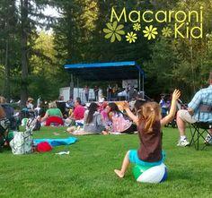SnoqualmieValley-Issaquah, Washington : Summer concert series