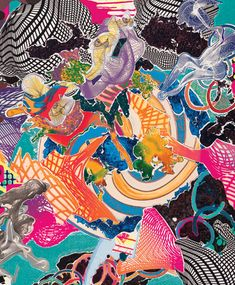 """Juam"" is reproduced from 'Frank Stella: Prints, A Catalogue Raisonné' published by Jordan Schnitzer Family Foundation. Best book of Frank Stella prints. Frank Stella Art, Ap Studio Art, David Hockney, Ap Art, Animal Design, Art Studios, Architecture Art, Collage Art, Printmaking"