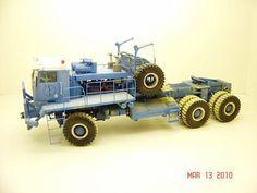 Scratch built Heavy Truck Model.