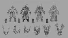 ArtStation - WH40K DMO PC Armor, Ted Beargeon