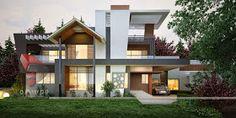 Ultra Modern Home Designs | Home Designs: House 3D Interior Exterior Design Rendering