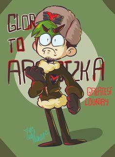 """ivathehoman: """" GLORY GREATEST!!! *sheds a tear* """" ARSTOTZKA PROUUUUD!!!!"""