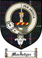Macintyre Clan Badge / Tartan FREE preview