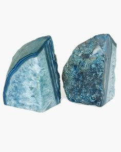 Agate Bookends - add these beauties to your bookcase or desk!