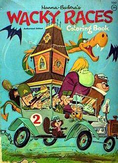 The Wacky Racers Classic Cartoon Classic Cartoon Characters, Cartoon Tv, Vintage Cartoon, Vintage Comics, Vintage Toys, Old School Cartoons, Retro Cartoons, Old Cartoons, Classic Cartoons