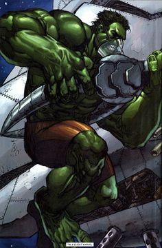 Hulk by Keu Cha