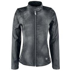 Mixed Biker Jacket (Black Premium by EMP)