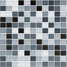 Mixed Gl Mosaic Black Tile Topps Tiles Wet Rooms