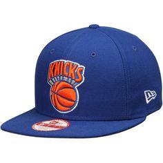 326d6bb0ea2 New York Knicks New Era Flag Stated Original Fit 9FIFTY Adjustable Hat -  Royal