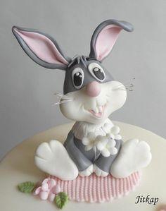 Králíček pro Esinku torta, zvieratká 3