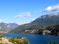 Beautiful Ubaye Valley Views Near Barcelonnette, France