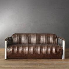 aviator furniture | Nordic Mining loft retro furniture imported from Italy Aviator metal ...