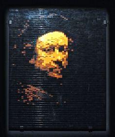 Art work by Nathan Sawaya -- all made from LEGO bricks! Rembrandt Art, Lego Brick, Bricks, Baroque, Art Work, Period, Toy, Artwork, Lego Blocks