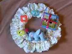 Diaper Cake Wreath Instructions - Bing Images