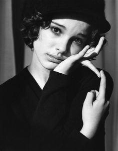 Natalie Portman by Bruce Weber. I love the frenchy 40s look