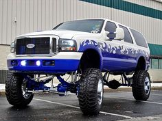 Lifted Excursion, Ford Excursion Diesel, Lifted Ford, Lifted Trucks, Ford Trucks, Lincoln Aviator, Big Rig Trucks, Ford Expedition, Hot Rides