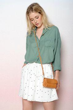 Cactus Onigri shirt 100% coton - Shirt femme - Des Petits Hauts 3