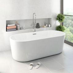 Ocean Freestanding Bath Small | VictoriaPlum.com