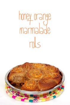just-making-noise: Honey Orange Marmalade Sourdough Rolls