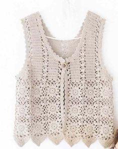 View album on Yandex. Crochet Vest Pattern, Shrug Pattern, Knitting Patterns, Crochet Patterns, Diy Crafts Crochet, Crochet Yarn, Crochet Top, Magnolia Pearl, Black Crochet Dress