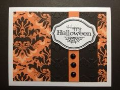 Fairly Crafty: CTMH Halloween Card